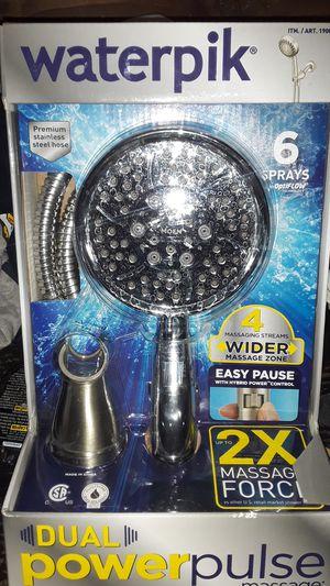 Waterpik dual power pulse massage head for Sale in Pomona, CA