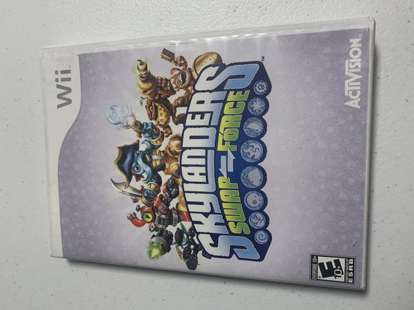 Skylanders Swap Force Wii Game and Loose Wired Portal of Power