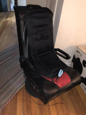 Gaming chair and massage/heat pad for Sale in St. Clair Shores, MI