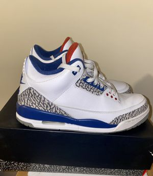 Jordan 3 True Blue size 11 for Sale in Jonesboro, GA