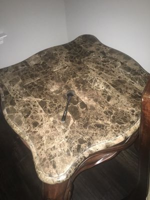 Granite coffee table and matching end tables for Sale in Murfreesboro, TN