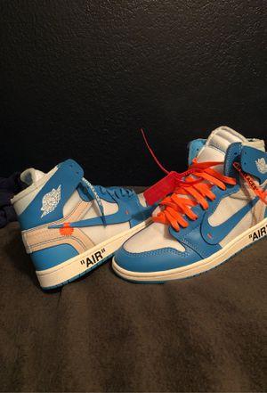 Jordan 1 off white unc for Sale in Mission Viejo, CA