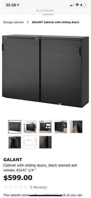 IKEA office furniture (desk and cabinet) for Sale in Brea, CA