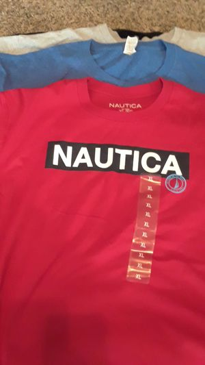 NAUCTICA T SHIRT & RANDOM NAME BRAND ETC.. for Sale in Arlington, TX