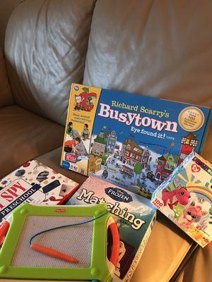 Preschool Games and puzzle for Sale in Edmonds, WA