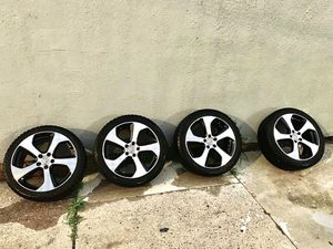 "Volkswagen Golf GTI R 18"" OEM Austin Wheels with New Winter Tires Yokohama for Sale in Queens, NY"