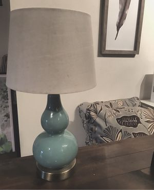 Teal Lamp for Sale in Nashville, TN