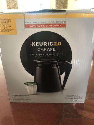 Keurig 2.0 Carafe brand new for Sale in Miami, FL