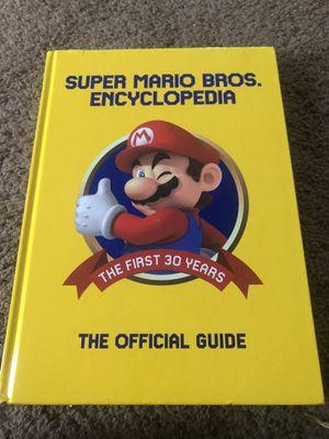 Super Mario encyclopedia for Sale in Yelm, WA
