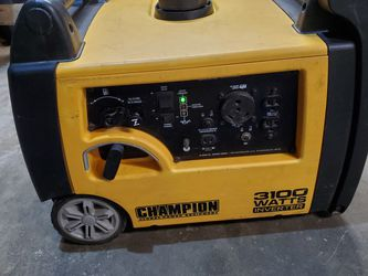 Champion 3100 Watt generator With Extras for Sale in Reedley,  CA