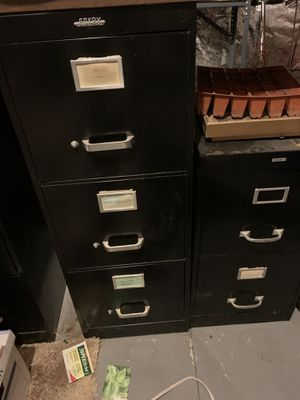 Filing cabinets. 2 sizes for Sale in Warminster, PA