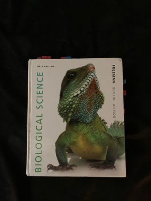 Used - Biological Science 5th Edition, Freeman for Sale in Lynnwood, WA