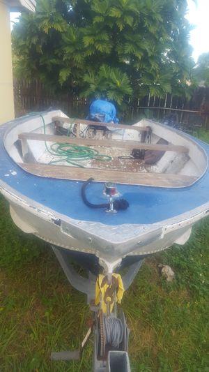 16' Aluminum boat (trailer/motor not included) for Sale in Miami Gardens, FL