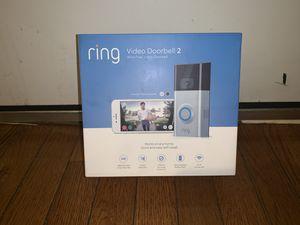Ring Video Doorbell 2 for Sale in Philadelphia, PA