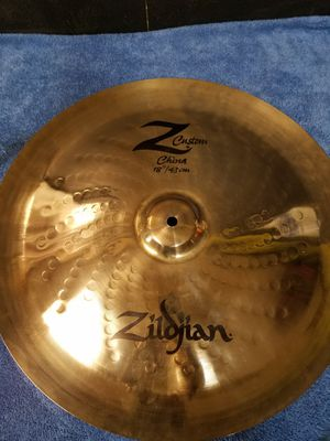 "Zildjian Z custom 18"" china for Sale in Salt Lake City, UT"
