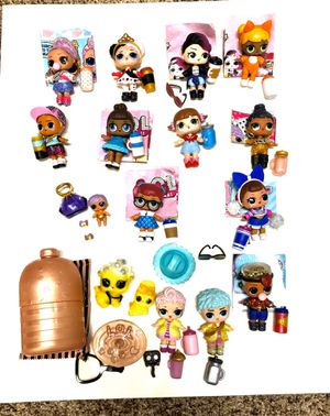 Lot of 14 Authentic LOL Dolls and 2 Fuzzy Pets for Sale in Gilbert, AZ