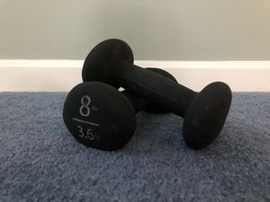 8lb Dumbbell (come in pairs) for Sale in Belmont, MA