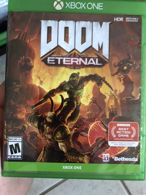 Doom eternal Xbox one for Sale in Kissimmee, FL