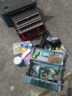 Assortment of Fishing Stuff for Sale in Gresham, OR