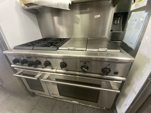 """48"""" MONOGRAM DUAL FUEL RANGE STAINLESS STEEL for Sale in Canyon Lake, CA"""