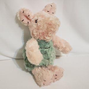 "Disney Baby Classic Pink & Green Piglet plush Stuffed Animal Toy 11"" Winnie Pooh for Sale in La Grange Park, IL"