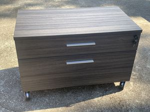 Office Furniture Mobile Two Drawer File Cabinet for Sale in Atlanta, GA
