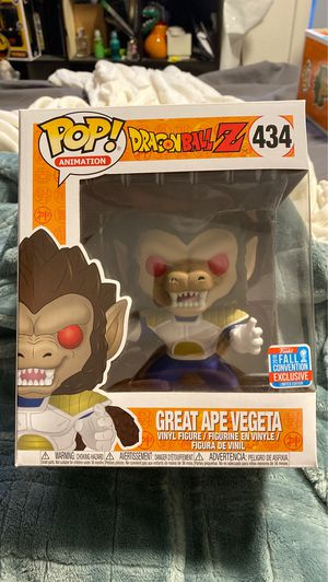 Great Ape Vegeta funko pop fall con exclusive for Sale in San Jose, CA