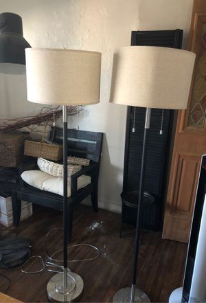 "Floor lamps 62"" new with shade for Sale in Albuquerque, NM"