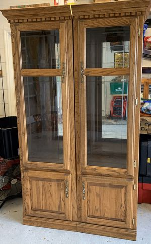 Solid wood cabinet for Sale in DeLand, FL