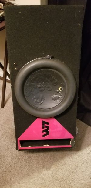 W7 sub its a 1000 $ sub make an offer for Sale in Baton Rouge, LA