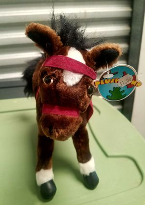 """1999 PLUSHLAND 12"""" HORSE PLUSH ANIMAL for Sale in San Diego, CA"""