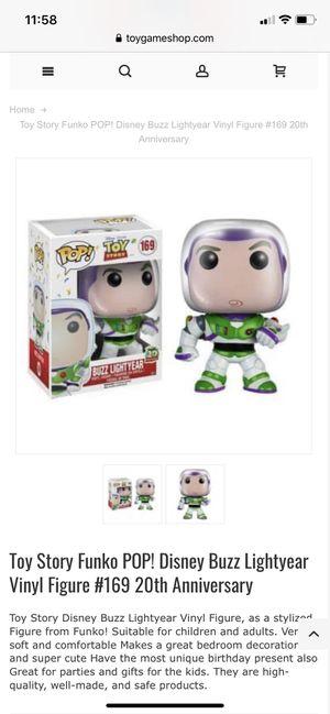 Toy Story Funko POP! Disney Buzz Lightyear for Sale in Pearland, TX