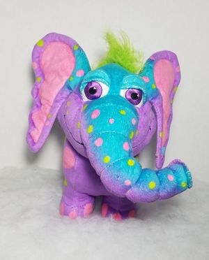"""10"""" Giggle Bellies PEANUT The Purple Elephant Plush Stuffed Animal for Sale in Dale, TX"""
