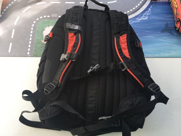 North face back pack