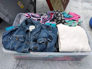 Lot of kids girl clothes for Sale in Cape Coral, FL