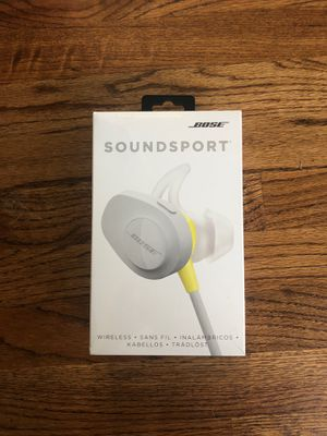 Bose Soundsport Wireless BT Headphones for Sale in Westminster, CO