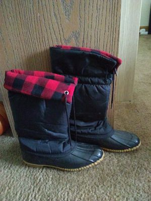 Women's rain boots size 6 $10 for Sale in Downers Grove, IL