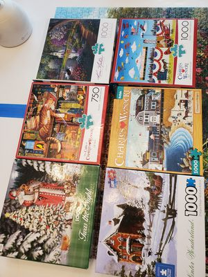 Jigsaw puzzles for Sale in Richmond, TX