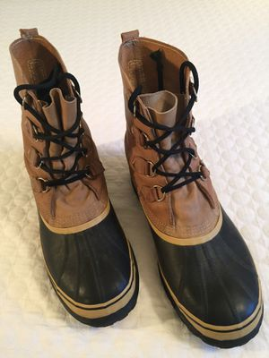 LIKE BRAND NEW SOREL SENTRY BOOTS. SIZE 12 for Sale in Evergreen, CO