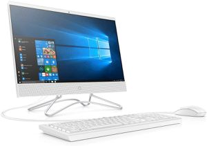 "HP 22 All-in-One, 21.5"" FHD Display, Intel Celeron G4900T, 1TB HDD, 4GB RAM, Windows 10, White for Sale in Hayward, CA"