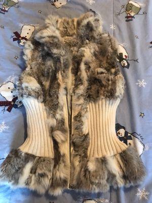 Women's rabbit fur vest for Sale in West Bloomfield Township, MI