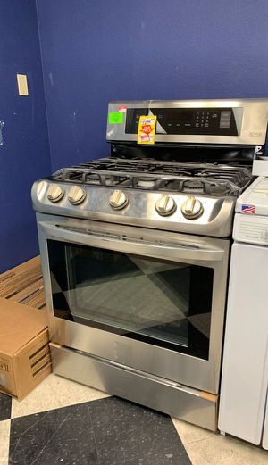 Brand New Stainless Steel LG Gas Stove L33U for Sale in Houston, TX