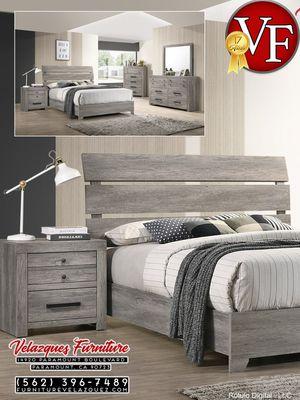 *ENDING SOON* 3PCS KING BED + NIGHTSTAND + DRESSER $648 for Sale in Garden Grove, CA