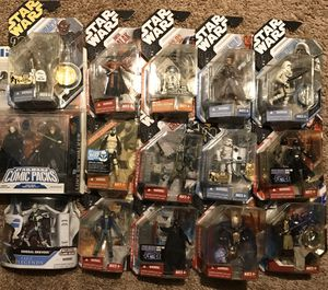 Star Wars action figures lot w Darth Malak for Sale in Ontario, CA