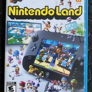 Nintendo Land for Wii U for Sale in Bradenton, FL