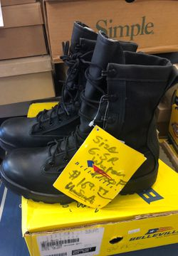 Size 6.5 men's regular with waterproof military black boot regular price one now $ 69.99size 6 1/2 regular made in USA for Sale in Las Vegas,  NV