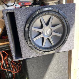 Kicker Comp VR 12 In Ported Box for Sale in San Leandro, CA