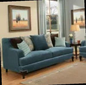 CLOSEOUTS LIQUIDATIONS SALE BRAND NEW COMFORTABLE SOFA AND LOVESEAT MADE IN THE USA ALL NEW FURNITURE MONIQUE R7R for Sale in Pomona, CA