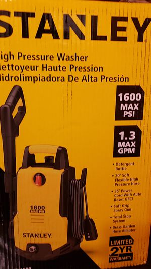STANLEY HIGH PRESSURE WASHER for Sale in Saint Paul, MN