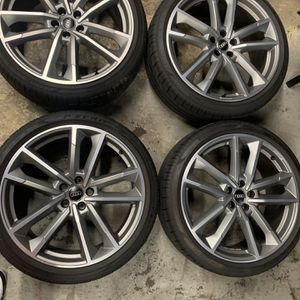 Audi 21 Rims With Tires for Sale in Providence, RI